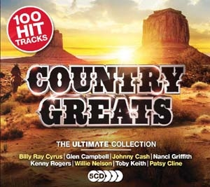Country Greats Ultimate Collection CD