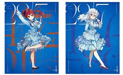 アニメ 22/7 volume 4 [DVD+CD]<完全生産限定版> DVD