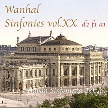 ハイドン・シンフォニエッタ・トウキョウ/ヴァンハル;交響曲集第20巻Bryan d2 f1 a1[HST-105]