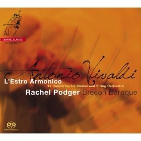 ヴィヴァルディ: ヴァイオリン協奏曲集 Op.3《調和の霊感》 SACD Hybrid