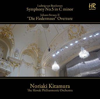 北村憲昭/ベートーヴェン: 交響曲第5番; J.シュトラウスII: 喜歌劇「こうもり」序曲 Op.362, 他 [SACD Hybrid+DVD-ROM][NKB-405]