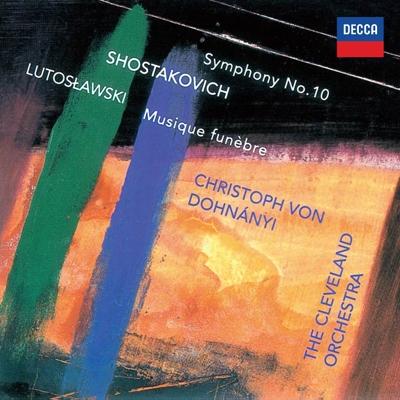 クリストフ・フォン・ドホナーニ/ショスタコーヴィチ: 交響曲第10番; ルトスワフスキ: 葬送音楽<タワーレコード限定>[PROC-1440]