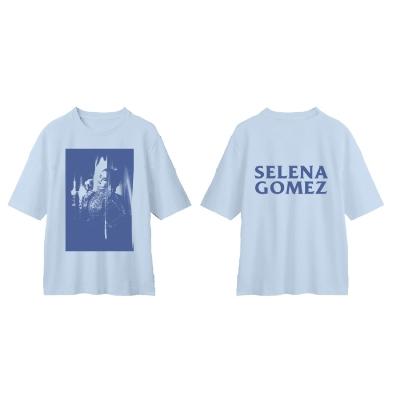 Tonal Photo T-Shirt(Baby Blue)/XLサイズ Apparel