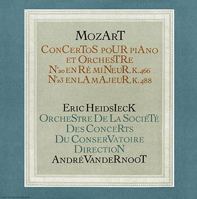 エリック・ハイドシェック/モーツァルト: ピアノ協奏曲集(第20,21,23,24,25,27番)<タワーレコード限定>[TDSA-77]