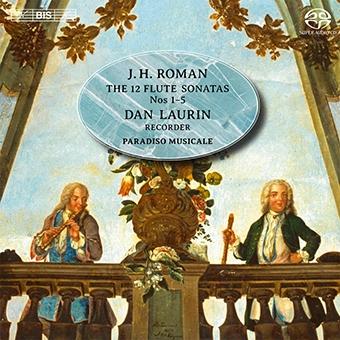 Roman: Sonatas for Flute and Basso Continuo SACD Hybrid