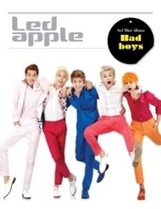 Ledapple/Bad boys: 3rd Mini Album[L200000956]