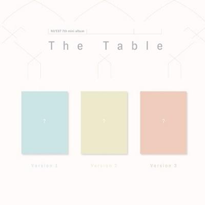 The Table: 7th Mini Album (ランダムバージョン) CD
