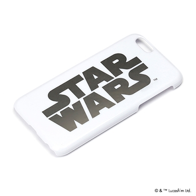 STARWARS iPhone 6用 ハードケース 銀箔押し ロゴ [PG-DCS925SW]
