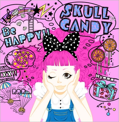 SKULL CANDY/Be HAPPY!![BEJM-1001]