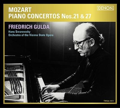 フリードリヒ・グルダ/モーツァルト:ピアノ協奏曲 第21番&第27番 [TWSA-1011]