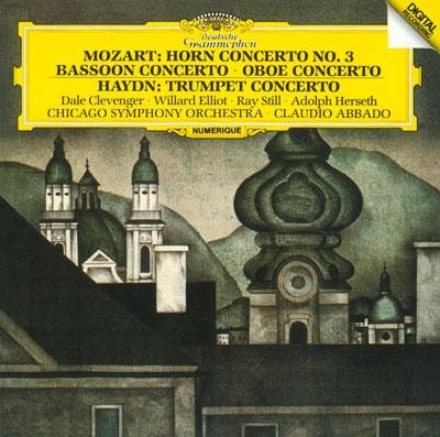 クラウディオ・アバド/シカゴ交響楽団の首席奏者たち [PROC-1351]