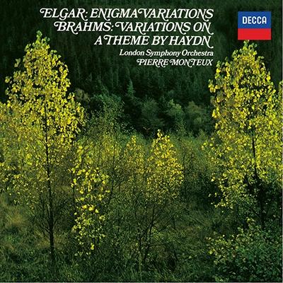ピエール・モントゥー/エルガー: エニグマ変奏曲; ブラームス: ハイドン変奏曲 [PROC-1583]