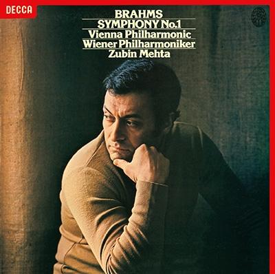 ズービン・メータ/ブラームス: 交響曲第1番, 悲劇的序曲; ワーグナー: 歌劇《ローエングリン》から第1幕&第3幕への前奏曲<タワーレコード限定>[PROC-1982]