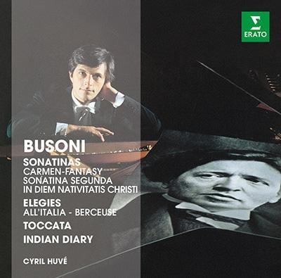 シリル・ユヴェ/Busoni: Piano Works[2564641985]