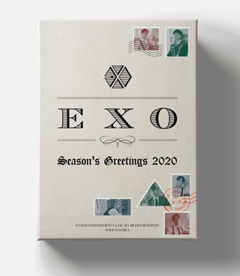 EXO 2020 SEASON'S GREETINGS [CALENDAR+DVD+GOODS] Book