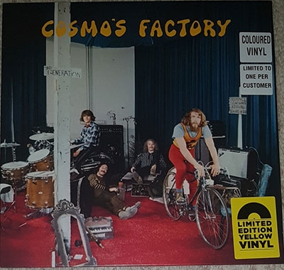 Creedence Clearwater Revival/Cosmo's Factory (Yellow Vinyl)<RECORD STORE DAY対象商品>[7207385]