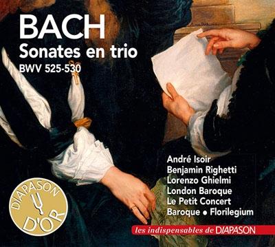 J.S.バッハ: トリオ・ソナタ集 BWV.525-530<初回限定生産盤>[DIAP111]
