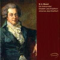 エリザベート・イェス=クロプフィッチュ/モーツァルト: ヴァイオリンとピアノのためのソナタ全集 [GRML98777]