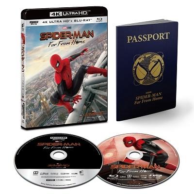 ジョン・ワッツ/スパイダーマン:ファー・フロム・ホーム [4K Ultra HD Blu-ray Disc+Blu-ray Disc]<初回生産限定版>[UHBL-81557]
