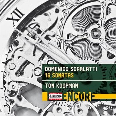 トン・コープマン/D.Scarlatti: 16 Sonatas[C8017]