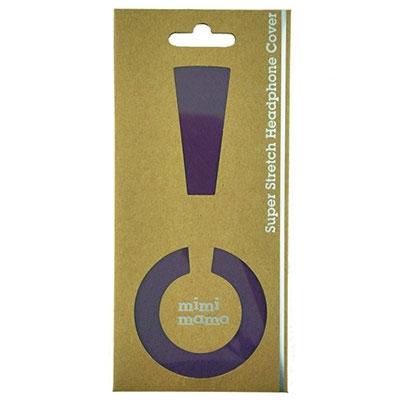 mimimamo ストレッチヘッドカバーM/Purple [MHC-001-PL]