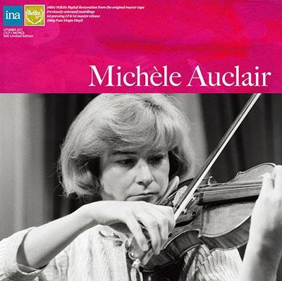 ミシェル・オークレール/Mozart: Sinfonia Concertante K 364; J.S. Bach: Violin Concerto No.2<限定盤>[LPSMBA021]