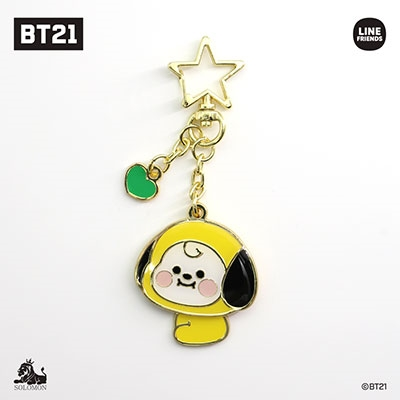 BT21 メタルゆらゆらキーチェーン ver.2/CHIMMY Accessories