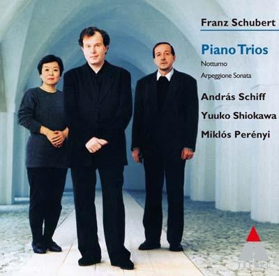 アンドラーシュ・シフ/シューベルト: ピアノ三重奏曲第1番, 第2番, アルペジオーネ・ソナタ, 他<タワーレコード限定>[WQCC-316]