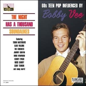 TOWER RECORDS ONLINEで買える「The Night Has A Thousand Soundalikes (60s Teen Pop Influenced By Bobby Vee[TV1036CD]」の画像です。価格は2,069円になります。