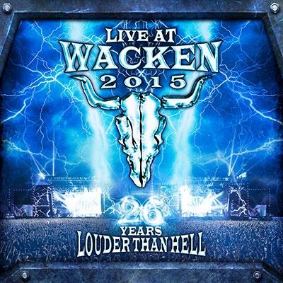 Live at Wacken 2015 (26 Years Louder Than Hell) [2Blu-ray Disc+2CD] Blu-ray Disc