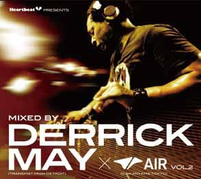 Derrick May/Heartbeat Presents Mixed By Derrick May×AIR Vol.2[LACD-0216]