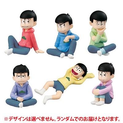 おそ松さん/パルメイトぷち やっぱパーカーは楽だよな!編 [MEGA820854]