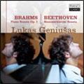 ルーカス・ゲニューシャス/ブラームス: ピアノソナタ第1番; ベートーヴェン: ピアノソナタ第29番「ハンマークラヴィーア」[JPCL-0075]