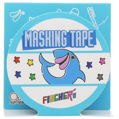 Fischer's/UUUM マスキングテープ フィッシャーズ[SANS617954]