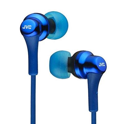JVC インナーイヤーヘッドホン HA-FX26 ブルー[HA-FX26-A]