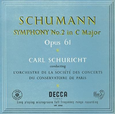 カール・シューリヒト/シューマン: 交響曲第2番&第3番《ライン》, 他 [PROC-1701]