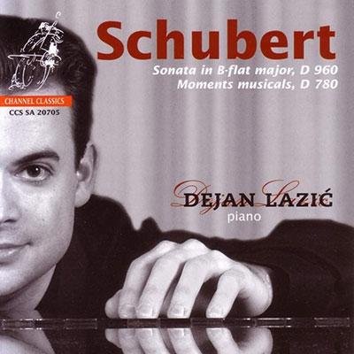デヤン・ラツィック/シューベルト: ピアノ・ソナタ第21番、楽興の時 D.780[CCSSA20705]