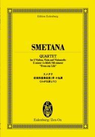 スメタナ 弦楽四重奏曲 第1番 ホ短調 「わが生涯より」 オイレンブルク・スコア[4118941554]