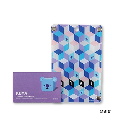 BT21/BT21 ICカードケース/KOYA[4560369049455]
