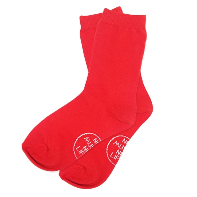 タワレコ 推し色グッズ 靴下 Red [MD01-1536]