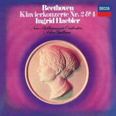 イングリット・ヘブラー/ベートーヴェン: ピアノ協奏曲第2番, 第4番<タワーレコード限定>[PROC-1191]