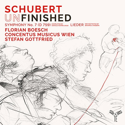 ブラームス: ヴェーベルンによるオーケストラ編曲版のシューベルトの歌曲、シューベルト: 交響曲第7番(未)完成D759