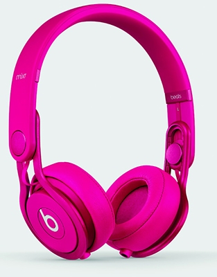 beats by dr.dre Mixr オンイヤーヘッドフォン Pink