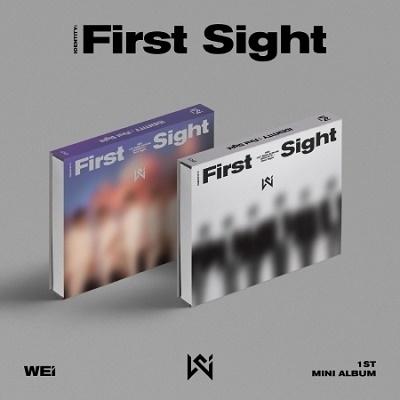 WEi/IDENTITY : First Sight: 1st Mini Album (ランダムバージョン)[L200002023]