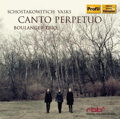 ブーランジェ・トリオ/Canto Perpetuo - Shostakovich, Vasks [PH12045]