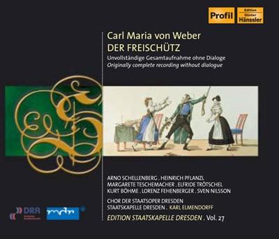 カール・エルメンドルフ/Weber: Der Freischutz (in German)[PH07060]