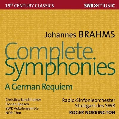 ブラームス: 交響曲全集&ドイツ・レクイエム