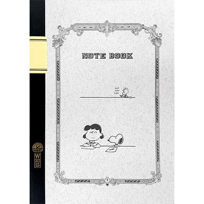 SNOOPY ツバメノートノート(B5)/ルーシー&スヌーピー [SPS289]