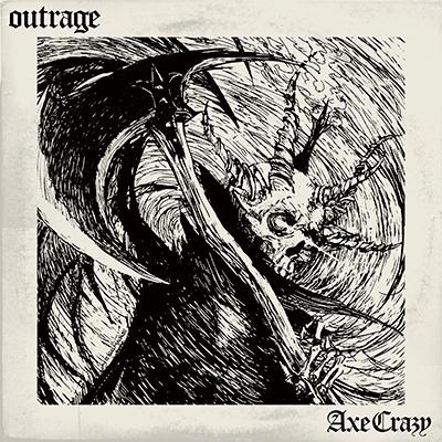 OUTRAGE/Axe Crazy<SOUND HOUSE SET> [7inch+イベント参加券+Tシャツ(Lサイズ)]<限定盤>[PROV-7008]