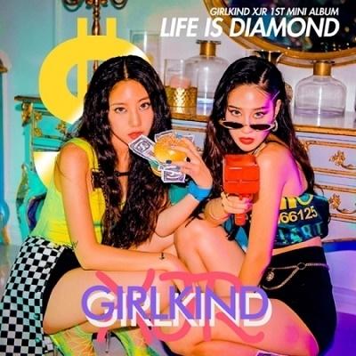 GIRLKIND XJR/Life Is Diamond: 1st Mini Album[CMDC11454]